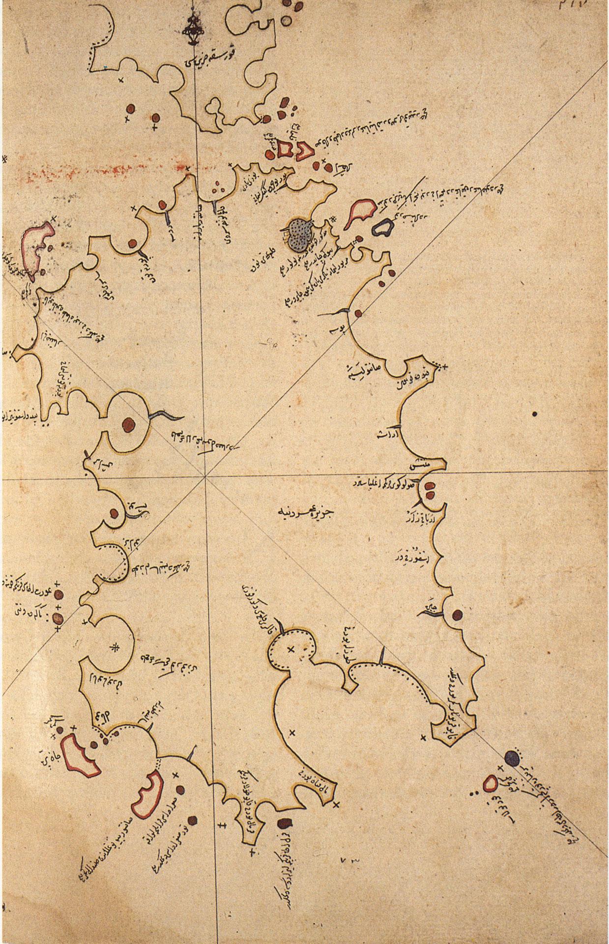 Cartina Sardegna Medievale.Istar Piri Reis
